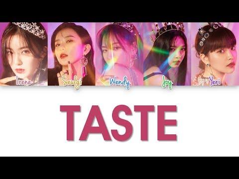 Red Velvet - Taste Lyrics (Color Coded Han|Rom|Eng)