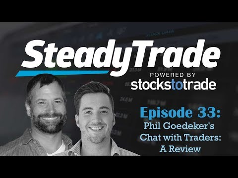 The Trader You Should Be Taking Notes From- Steady Trade Podcast Ep. 33