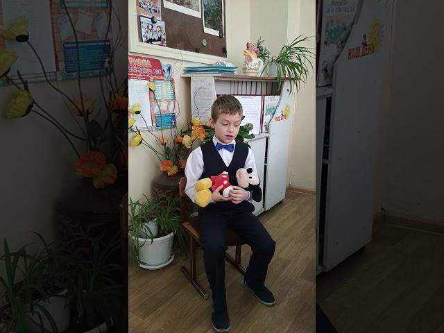 Изображение предпросмотра прочтения – АртемМильчев читает отрывок изпроизведения «Баю-баюшки-баю» (Русский фольклор )