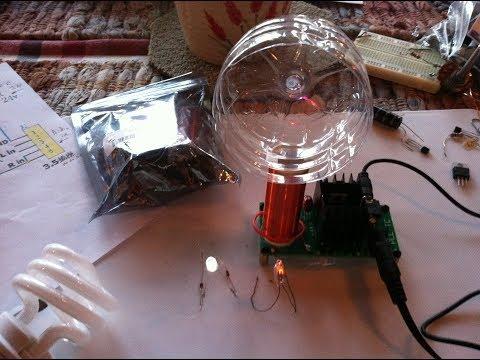 Mini Tesla Coil Plasma Speaker ---- A fun electronics kit for under $10