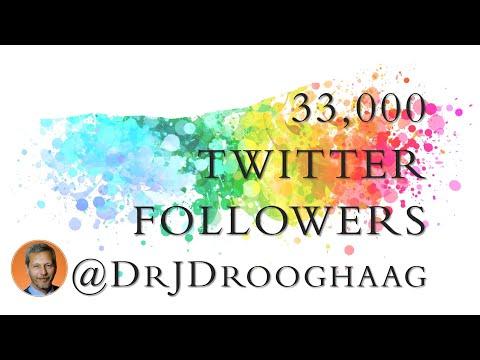 33,000 followers on Twitter