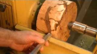 Easy Wood Tools - Spaled Maple Burl #5 - How To Get The Best Possible Finish
