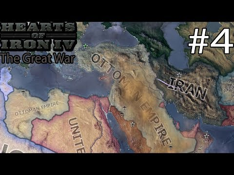 Hearts of Iron IV: The Great War - Ottoman Empire Campaign #4