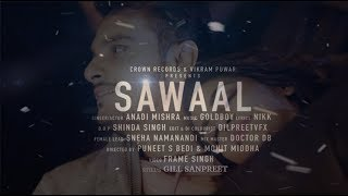 Sawaal   Anadi Mishra   Nikk   Goldboy   Frame Singh   Promo   New Punjabi song 2019   Crown Records