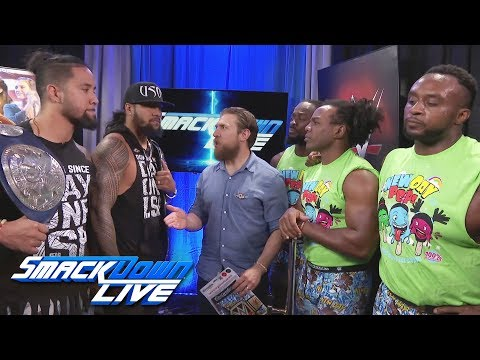 The Usos choose the stipulation for their rematch with The New Day: SmackDown LIVE, Sept. 5, 2017