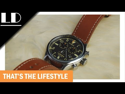 Timex + Red Wing Waterbury Chronograph watch review! A must have!