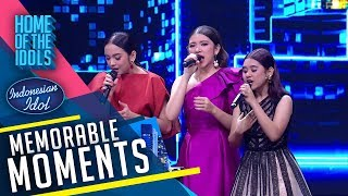Wah, The Super Girls dapat tantangan dari Yovie Widianto! - Indonesian Idol 2020