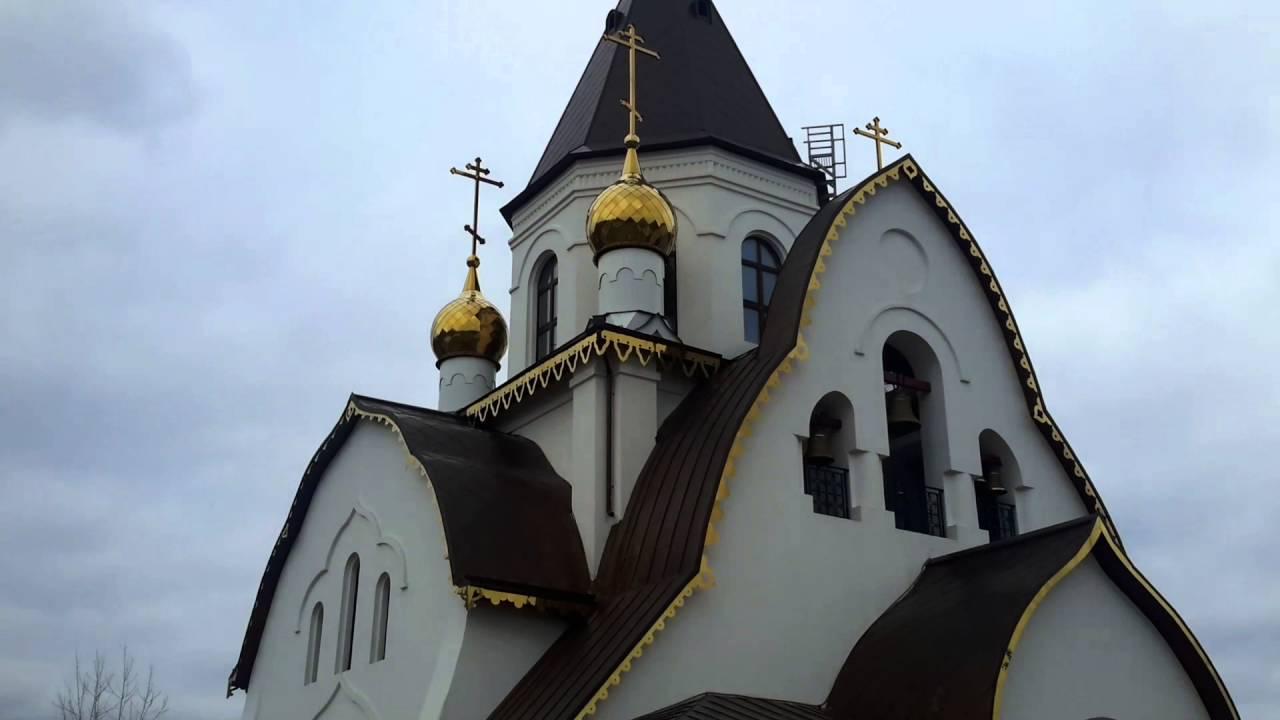 Свято-Успенский Мужской Монастырь в Красноярске - YouTube