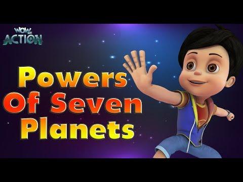 Hindi Cartoons for kids | Vir: The Robot Boy | Power Of Seven Planets | WowKidz Action