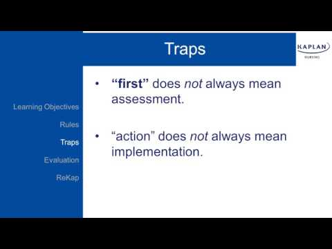 NCLEX Prep: Traps to Avoid on the NCLEX-RN® Exam