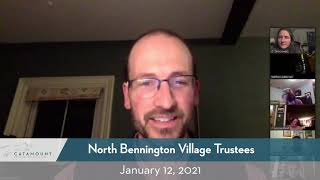 North Bennington Village Trustees // 01/12/21