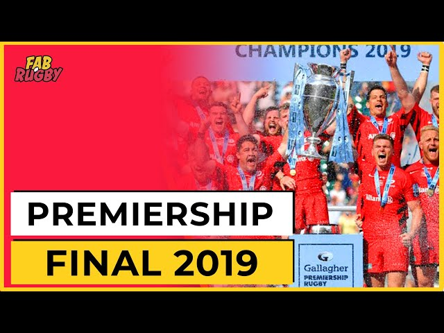 Premiership Rugby Final 2019: Live Reaction & Quiz