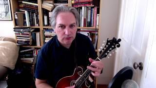 Na Ceannabháin Bhána (slig jig) on mandolin