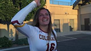 day in life CMU volleyball player