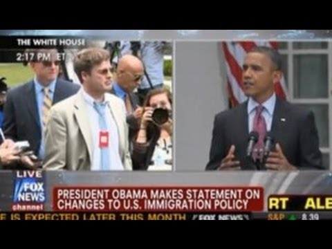 Obama Heckled By Daily Caller Reporter During Immigration Remarks