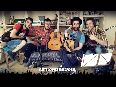 Antílopez y El Jose. La Cobradora del Track. Artistas Desde el Sofá de Casa.