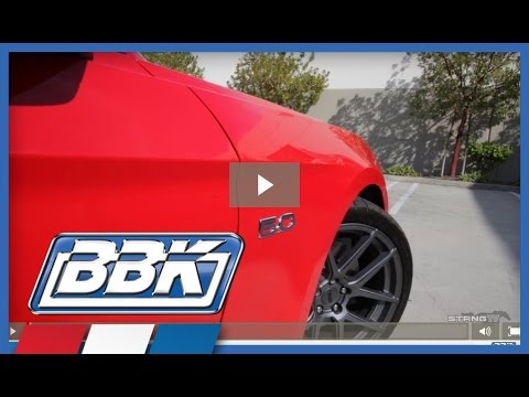 S550 2015 Up Mustang GT V6 Performance Parts Review BBK Performance