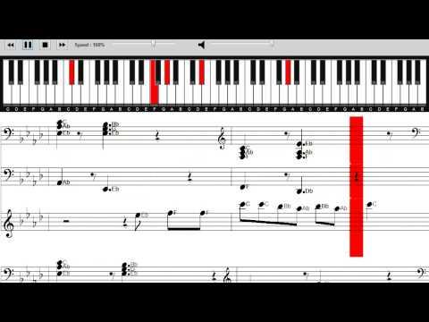 David Guetta & Showtek - Bad - Piano Tutorial with on screen sheet music