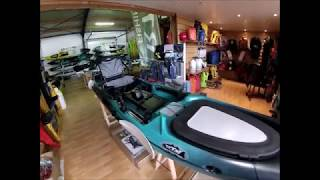 Kayak Armor présentation de l'Abaco 4 20 Torqeedo RTM Fishing