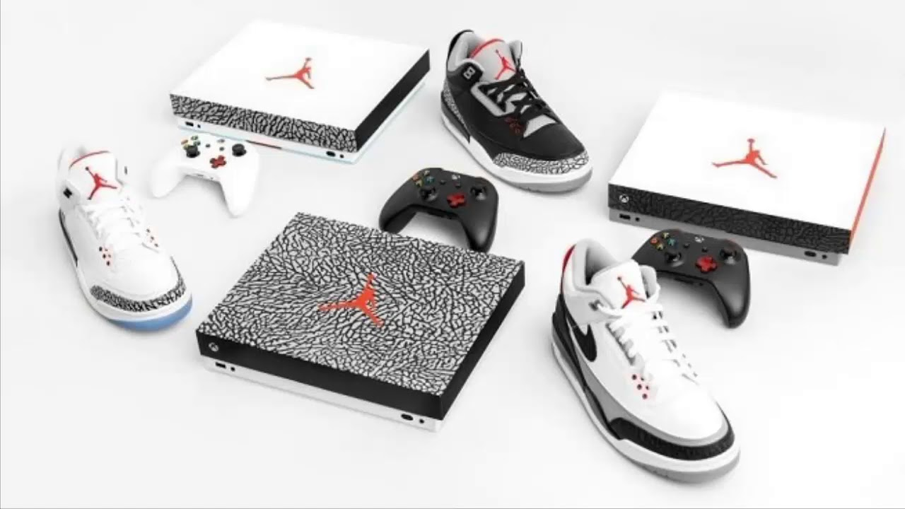Win an Exclusive Air Jordan 3 Xbox One X Console, Here's How to Enter