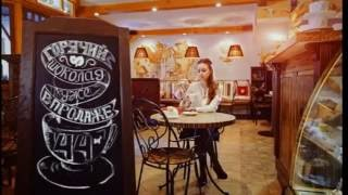 Оригинальная реклама кофейни с грифельным штендером(МЕЛОВОЙ ТОМСК Предлагаем: - Меловые грифельные доски, вывески, штендеры, менюхолдеры, стенды - Грифельная..., 2016-07-05T02:02:22.000Z)