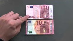 Neuer 10 Euro Schein vs Alter 10 Euro Schein