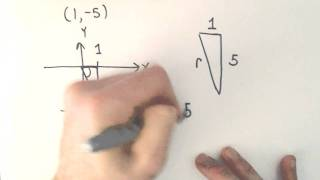Converting Between Polar and Rectangular (Cartesian) Coordinates, Ex 2