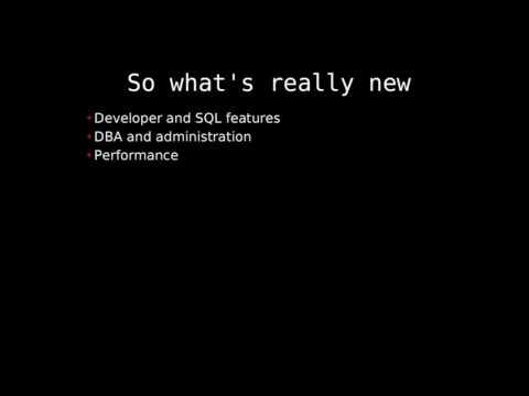 What's new in PostgreSQL 9.5