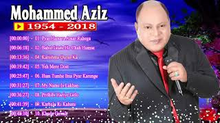 सुपर हिट गाना मोहम्मद अज़ीज़ ♥ Best of Mohd Aziz (1954 -2018)