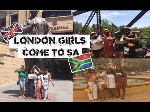 London Girls Come To South Africa: VLOG