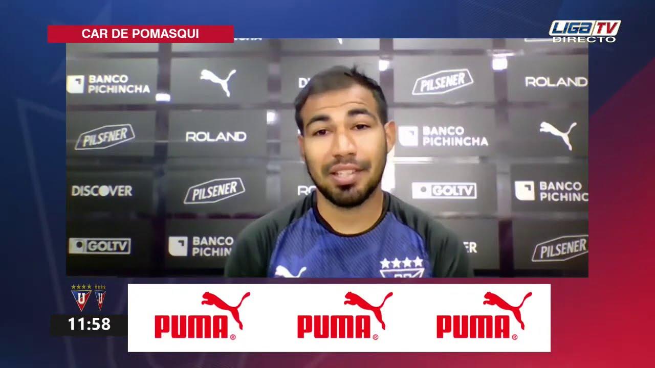 Junior Sornoza   Rueda de Prensa (virtual)   LDU