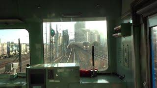 [前面展望]JR西日本JRゆめ咲線 西九条-桜島 [cab view]JR-WEST JR Yumesaki Line Nishikujo - Sakurajima