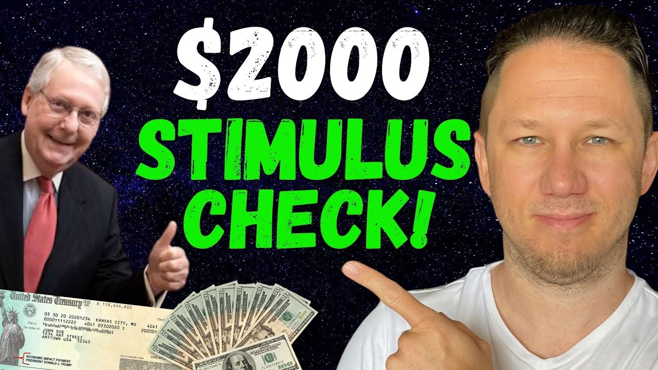 $600 COMES TONIGHT + $2000 Second Stimulus Check Update!