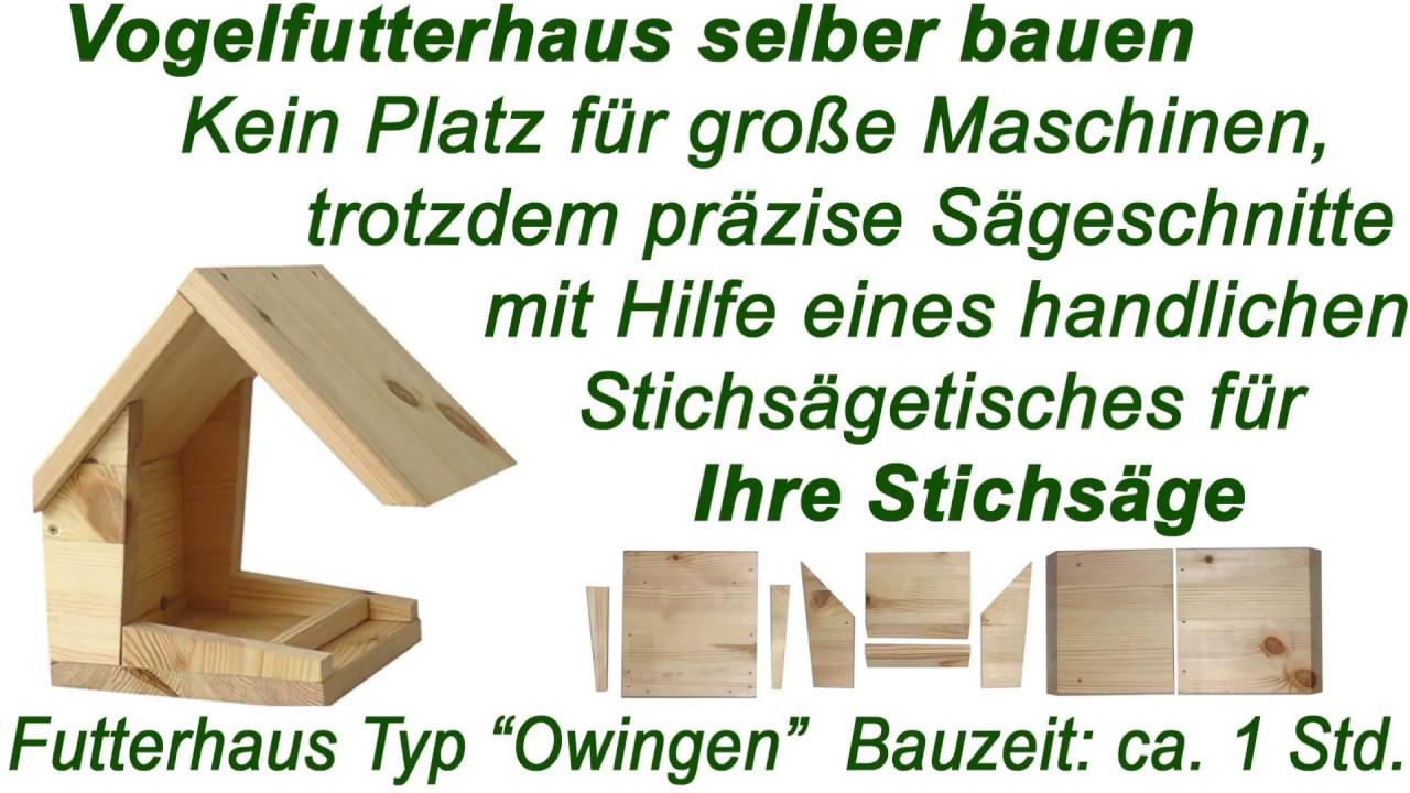 vogelh uschen mit bauanleitung zum selber bauen und montieren in ebay youtube. Black Bedroom Furniture Sets. Home Design Ideas