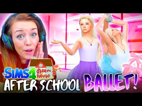 👯♀️BALLET AFTER SCHOOL CLUB!👯♀️ (The Sims 4 #79!🏡)