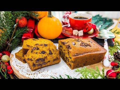 Gaby Dalkin Makes Chocolate Chip Pumpkin Bread Home & Family
