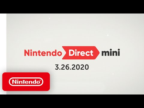 Nintendo Direct Mini 3.26.20
