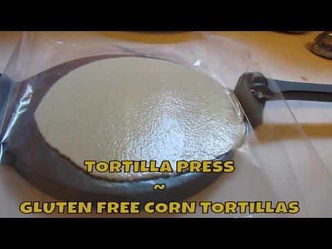 Gluten Free Corn Tortilla ~ Yay I got a Tortilla Press