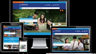 University Hub Free WordPress Theme Features With Download Link