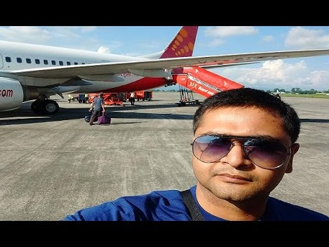 Bagdogra Airport to Kolkata Airport by Spicejet Flight Take-Off & Landing | My Spicejet Experience