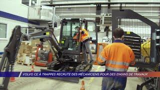 Yvelines | Volvo CE à Trappes recrute des mécaniciens pour des engins de travaux