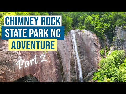 Chimney Rock State Park Spring 2021 - Part 2 - Hiking to Exclamation point and on the Skyline Trail