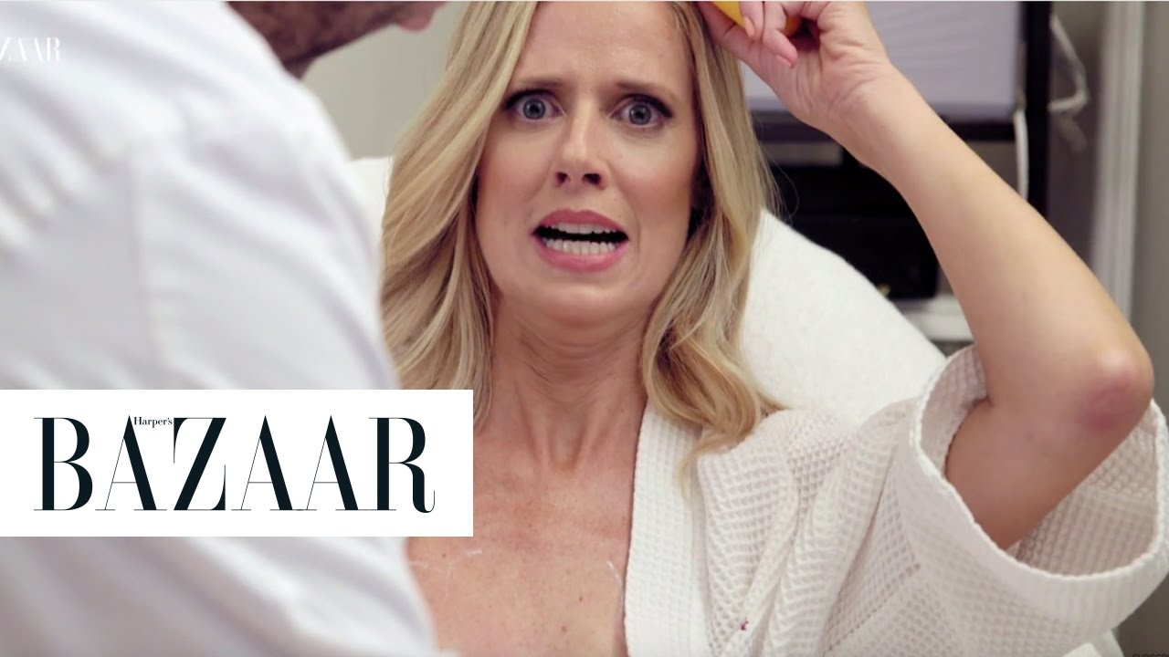 This Is What a NonSurgical Breast Lift Looks Like  The Younger Games  Harpers BAZAAR