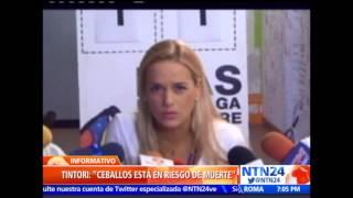 Patricia Ceballos advierte del deterioro de la salud de Daniel Ceballos, en huelga de hambre