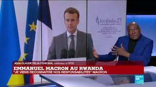 Discours d'Emmanuel Macron : le président français demande aux Rwandais de pardonner la France