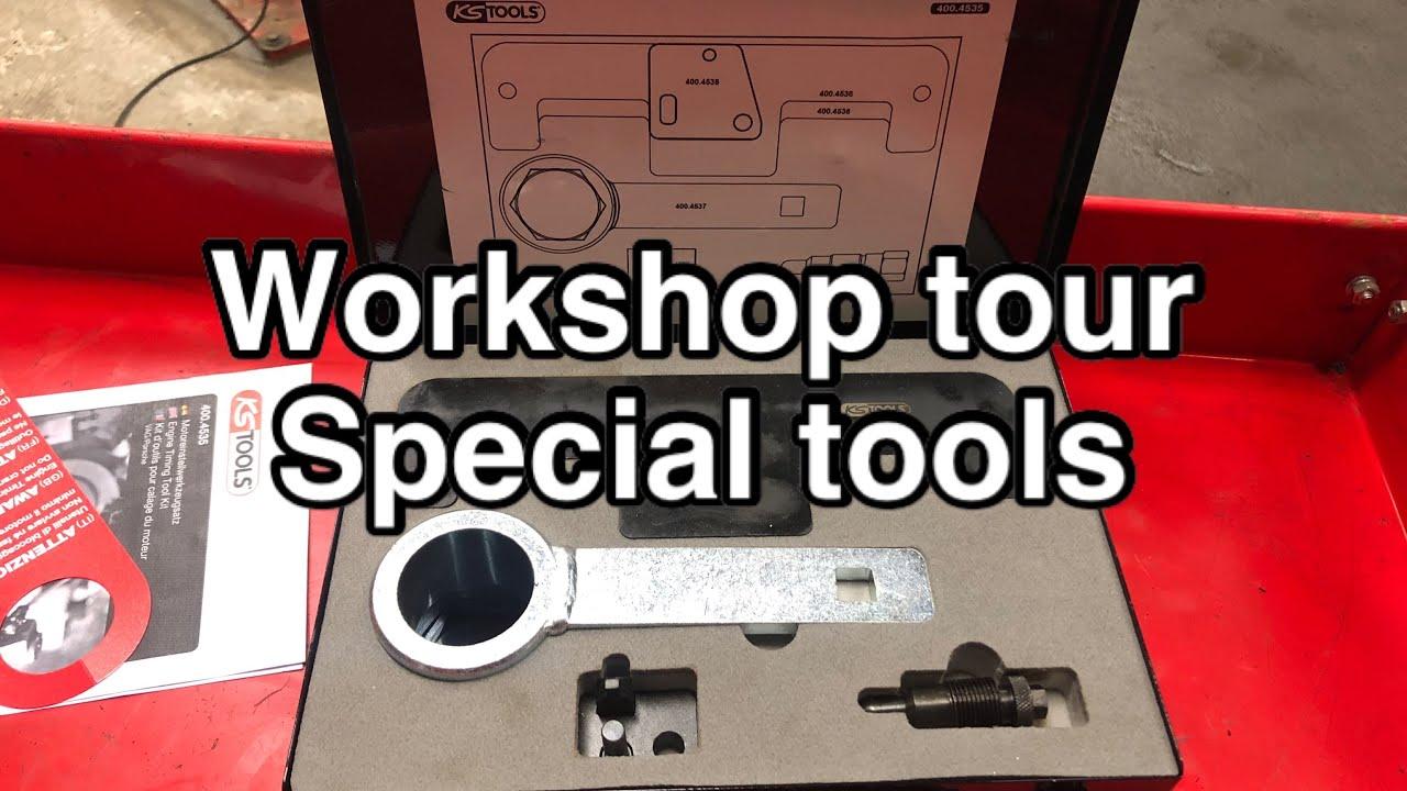 Workshop tour 2   Special tools