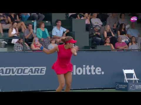 2017 Bank of the West Classic Semifinals | Madison Keys vs Garbiñe Muguruza | WTA Highlights