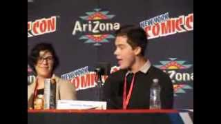 NYCC 2013 Adventure Time Panel - Jeremy Shada sings Baby Finn song