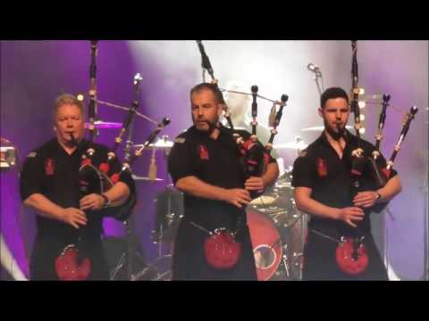 Red Hot Chili Pipers   Bagrock at it's best