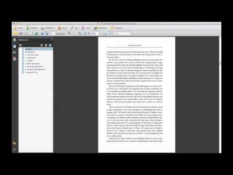 FastPencil Digital Publishing System Demo